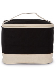 Vanity case in cotton