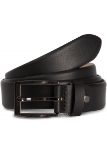 Adjustable round edge classic belt