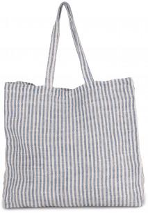 JUCO STRIPED SHOPPER BAG