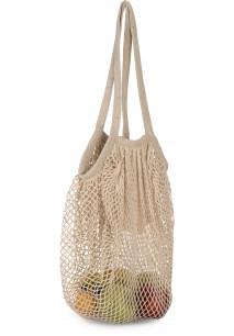 Cotton mesh grocery bag