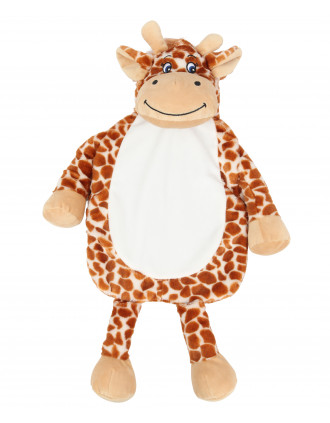 Giraffe hot water bottle cover