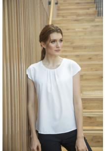 Ladies' pleat front blouse