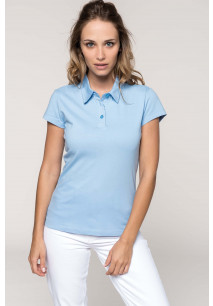 Ladies' jersey polo shirt