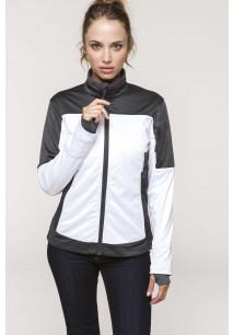 Ladies' two-tone softshell jacket
