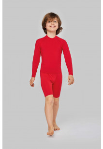Kids' long-sleeved base layer sports T-shirt