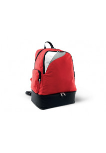 Multi-sports backpack with rigid bottom