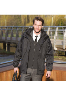 Men's 3-in-1 Jacket with Softshell Lining
