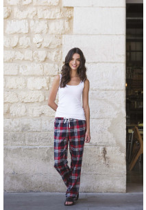 Ladies' tartan lounge trousers