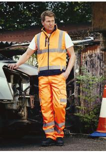 Hi-Vis cargo trousers