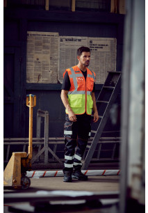 Hi-Vis Top Cool executive waistcoat