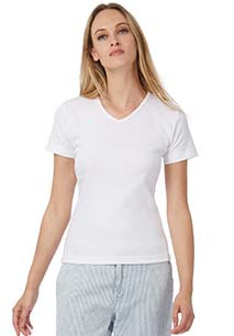 Ladies' Watch / Women V-Neck T-shirt