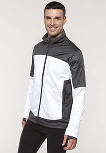 Men's two-tone softshell jacket