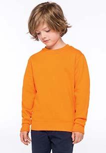 Kids' crew neck sweatshirt
