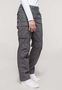Ladies' lightweight multipocket trousers