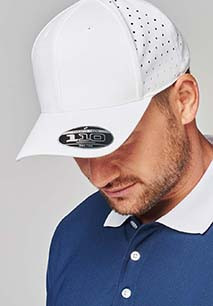 Perforated cap - 6 panels