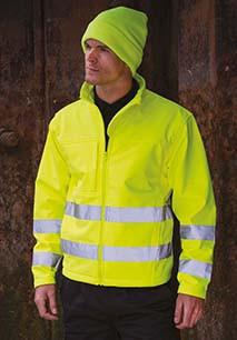 High-viz Softshell Jacket