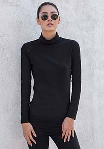 Ladies' Feel Good Roll Neck Top