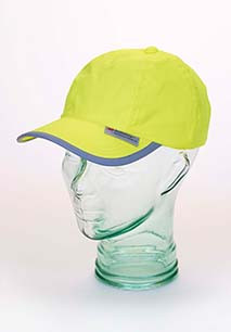Baseball Cap With Reflective Hem