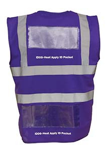 Heat Apply ID Pockets (Packs of 50)