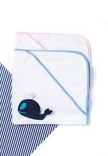 Babies' hooded Terry towel