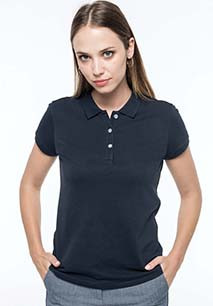 Ladies' Supima® short sleeve polo shirt
