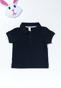 Babies' Short-Sleeved Polo Shirt