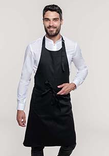 Polycotton apron high-temperature washable