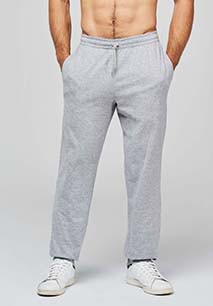 Unisex lightweight cotton tracksuit bottoms