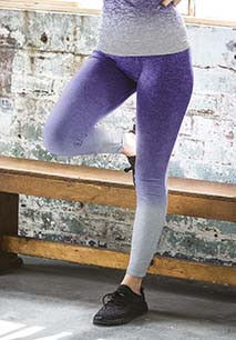 Fade-out leggings