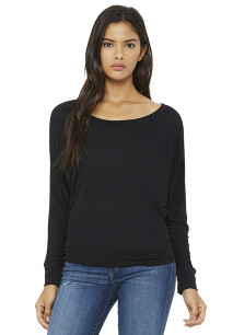 Flowy Long-sleeved Dolman T-shirt