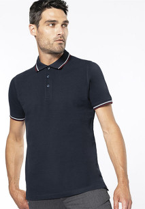 Men's short-sleeved polo shirt
