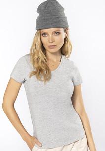 Ladies' V-neck short-sleeved t-shirt