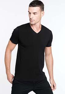 Calypso > Men's short-sleeved V-neck T-shirt