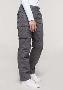 Ladies' lightweight multipocket trousers