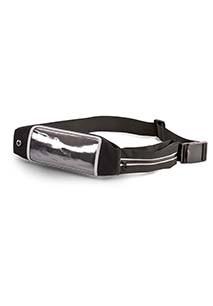 Double pocket smartphone belt