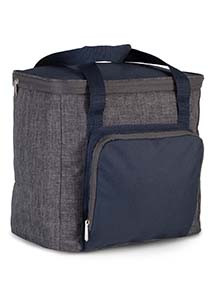 Cool bag with zipped pocket