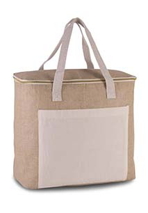 Jute cool bag - large size