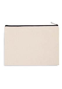 Cotton canvas pouch - large