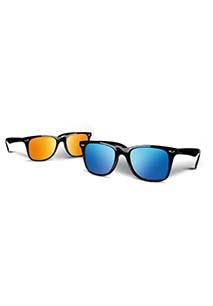 Flash lens sunglasses