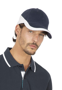 Racing - Two-tone 6 panels cap