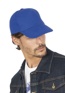 Heavy cotton cap - 5 panels