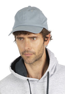Peach-skin effect cap - 6 panels