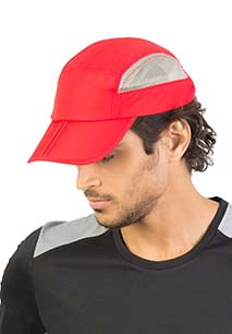 Foldable sports cap