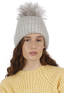 Ladies' bobble beanie