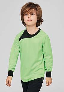 Kids' long-sleeved goalkeeper top