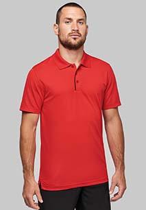 Short-sleeveD piqué polo shirt