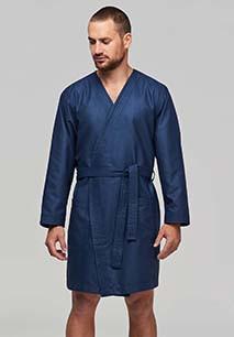 Microfibre bathrobe