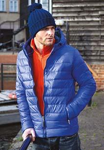 Mens Snow bird Hooded Jacket