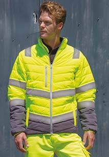 Soft padded Safety Jacket