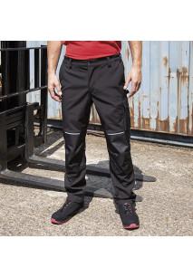 Softshell slim work trouser